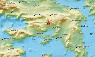 Σεισμολόγοι: Από τον εστιακό χώρο της Πάρνηθας ο σεισμός των 5,1 Ρίχτερ