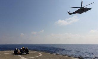 Κοινή άσκηση Πολεμικού Ναυτικού – Εθνικής Φρουράς εντός της κυπριακής ΑΟΖ