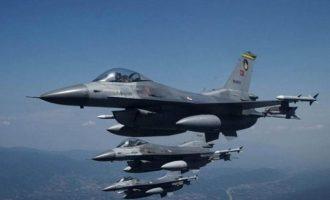 Τουρκικά F-16 πάνω από την κατεχόμενη Κερύνεια  – «Πανηγύρια» για την επέτειο εισβολής