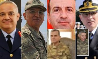 Έξι Τούρκοι στρατηγοί αιχμάλωτοι του στρατάρχη Χαφτάρ στη Λιβύη; (φωτο)