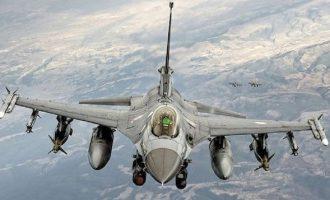 Τουρκικά μαχητικά πέταξαν πάνω από τα κουρδικά εδάφη στη βόρεια Συρία
