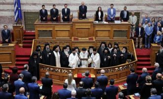 Ορκίστηκε η νέα Βουλή – Την Πέμπτη εκλέγεται ο νέος Πρόεδρός της