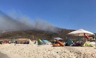 Η Ελαφόνησος κηρύχθηκε σε κατάσταση έκτακτης ανάγκης πολιτικής προστασίας