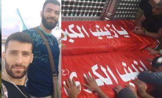 Κηδεύτηκαν στον Λίβανο δύο μέλη της Χεζμπολάχ που σκοτώθηκαν στη Συρία από ισραηλινή επιδρομή