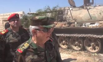 Ο συριακός στρατός προελαύνει στην Ιντλίμπ με την υποστήριξη των Ρώσων