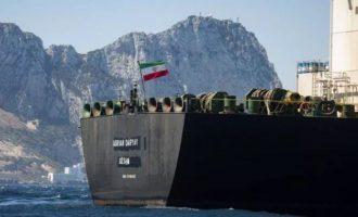 Προς Ελλάδα ταξιδεύει το ιρανικό τάνκερ «Grace 1» που θέλουν να συλλάβουν οι Αμερικανοί