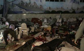 Μακελειό στην Καμπούλ από επίθεση αυτοκτονίας σε γάμο