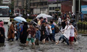 Κατακλυσμός στην Κωνσταντινούπολη – Ένας άστεγος νεκρός