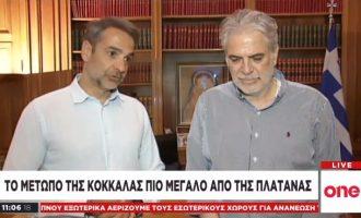 Κυρ. Μητσοτάκης: «Η Κλιματική Αλλαγή και οι επιπτώσεις της θα μας συνοδεύουν για πολλά χρόνια ακόμα»