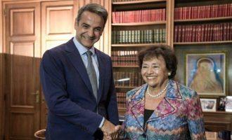 Ο Κυρ. Μητσοτάκης διαβεβαίωσε τη Νίτα Λόουεϊ ότι η Ελλάδα «αποτελεί αξιόπιστο εταίρο των ΗΠΑ»