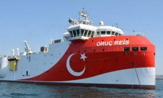 «Κόκκινος συναγερμός»: Καθ'οδόν για την Ανατολική Μεσόγειο το «Ορούτς Ρέις»