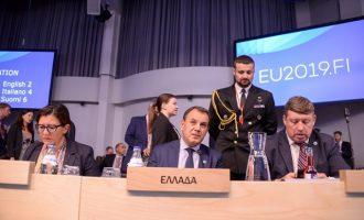 Μήνυμα Παναγιωτόπουλου σε Τουρκία: Υψηλής προτεραιότητας η θαλάσσια ασφάλεια