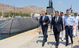 Παναγιωτόπουλος: Το Πολεμικό Ναυτικό είναι η τρομερή δύναμη της χώρας