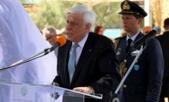 Πρ. Παυλόπουλος: «Αβάσιμες και αυθαίρετες» οι «αμφισβητήσεις» που εγείρει η Τουρκία