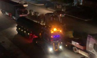 Οι Αμερικανοί έστειλαν ακόμα 200 φορτηγά όπλα κι άλλο εξοπλισμό στους Κούρδους