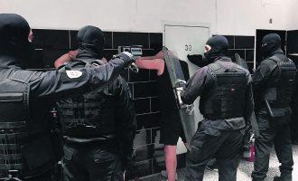 Έτοιμοι για δράση οι κομάντο καταστολής εξεγέρσεων στις φυλακές (βίντεο)