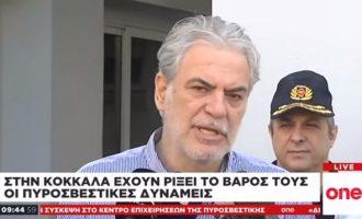 Χρ. Στυλιανίδης: «Η κατάσταση στη Εύβοια ήταν και συνεχίζει να είναι πολύ δύσκολη»
