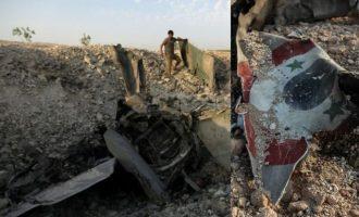 Η Ταχρίρ Αλ Σαμ κατέρριψε συριακό μαχητικό στην Ιντλίμπ (φωτο)