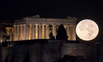 Ανοιχτοί αρχαιολογικοί χώροι και μνημεία για την πανσέληνο του Δεκαπενταύγουστου