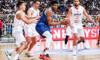 Τουρνουά «Ακρόπολις»: Έχασε στην παράταση με 85-80 η εθνική Ελλάδος από την Σερβία