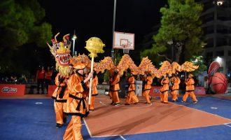 Κινέζικη γιορτή του μπάσκετ στην πλατεία Ν. Σμύρνης από το Πάμε Στοίχημα