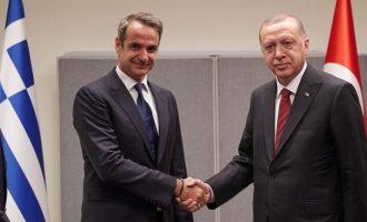 Ερντογάν: Να συναντηθούμε με Μητσοτάκη – Το θέμα είναι τι θα συζητήσουμε