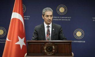 Τουρκικό ΥΠΕΞ για Έβρο: «Η Ελλάδα παραβίασε το συμπεφωνημένο σύνορό μας»