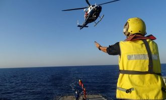 Σε άσκηση Έρευνας – Διάσωσης στην Κύπρο το Πολεμικό Ναυτικό
