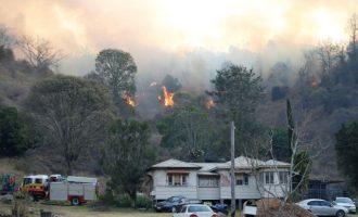 Τεράστιες δασικές πυρκαγιές ξέσπασαν στην Αυστραλία – Μπορεί να διαρκέσουν εβδομάδες
