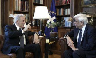 Αβραμόπουλος φουριόζος: Επιστρέφω «στην Ελλάδα και στην ελληνική πολιτική, όπου, και βέβαια, ανήκω»