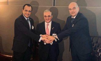 Ο Δένδιας στον ΟΗΕ επιβεβαίωσε την ισχυρή συμμαχία Ελλάδας, Κύπρου, Αρμενίας