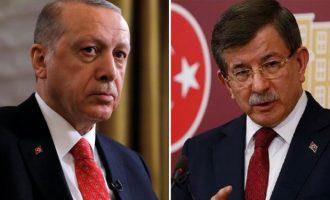 Προς εμφύλιο οι ισλαμιστές στην Τουρκία – Ερντογάν εναντίον Νταβούτογλου
