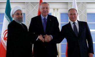 Ο Ερντογάν θέλει να καταλάβει όλη τη βόρεια Συρία και να την εποικίσει με 3 εκ. πρόσφυγες