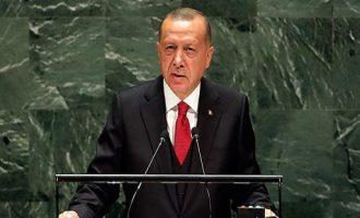 Βόμβα Ερντογάν στον ΟΗΕ: Ζητά πυρηνικά για όλες τις χώρες