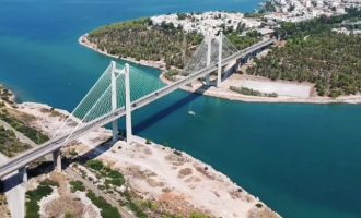 Πτώμα εντοπίστηκε κάτω από την Υψηλή Γέφυρα στη Χαλκίδα