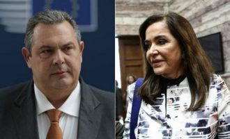 Καταδίκη Καμμένου: Θα πληρώσει αποζημίωση 5.000 ευρώ στη Μπακογιάννη