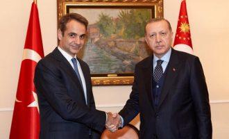 «Κλείδωσε» το ραντεβού Μητσοτάκη – Ερντογάν στη Νέα Υόρκη