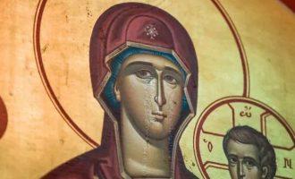 Χαμός! Γιατί δάκρυσε η εικόνα της Παναγιάς σε ελληνική εκκλησία στο Σικάγο