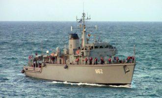 Πολεμικό Ναυτικό: Αναληθή τα δημοσιεύματα περί απώλειας «140 ναρκών»