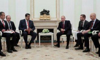 Ο Πούτιν στηρίζει τον διάλογο του Μαδούρο με την αντιπολίτευση