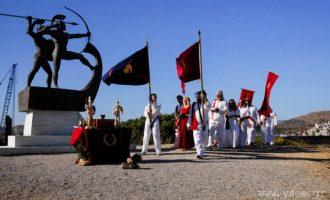 Η Ελληνική Εθνική Θρησκεία τίμησε τους Σαλαμινομάχους (φωτο)