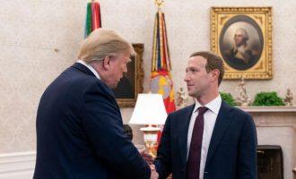 Το αφεντικό του Facebook συναντήθηκε με τον Ντόναλντ Τραμπ