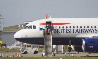Αναγκαστική προσγείωση στο Ελ. Βενιζέλος αεροσκάφους της British Airways – Έβγαζε καπνούς