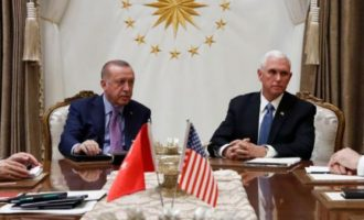 Τουρκικές εφημερίδες: «Μεγάλη νίκη» Ερντογάν η συμφωνία με τις ΗΠΑ για τη Συρία