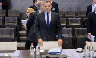 Παναγιωτόπουλος: Το ΝΑΤΟ έχει ευθύνη για να διαφυλάξει το αδιαίρετο της ασφάλειας