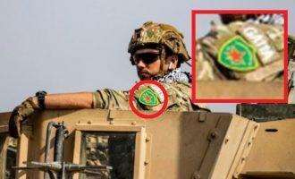 Ράπισμα στον Τραμπ – Αμερικανός στρατιώτης φέρει το έμβλημα των Κούρδων ενώ φεύγει από τη Συρία