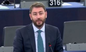 Ο Ανδρουλάκης εθνική φωνή στις Βρυξέλλες: «Πανευρωπαϊκό εμπάργκο όπλων στην Τουρκία»