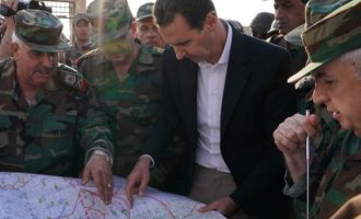 Ο Άσαντ επισκέφθηκε το μέτωπο της Ιντλίμπ στη βορειοδυτική Συρία