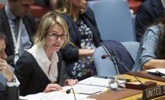 Η Πρέσβης των ΗΠΑ στον ΟΗΕ κατακεραύνωσε την Τουρκία για την εισβολή στη Συρία