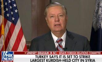 Λίντσεϊ Γκράχαμ: Οι κυρώσεις των ΗΠΑ «θα συντρίψουν τον Ερντογάν» (βίντεο)